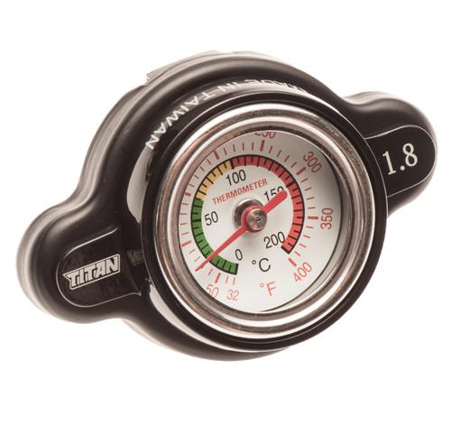 High Pressure Radiator Cap W/ Gauge CR CRF TRX YZ YZF YFZ KX KXF KFX RM RMZ LTZ