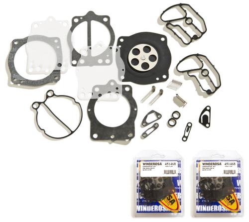 Keihin Dual Carb Carburetor Rebuild Kit Kawasaki ZXI STS STX Xi Xir SS ST 750