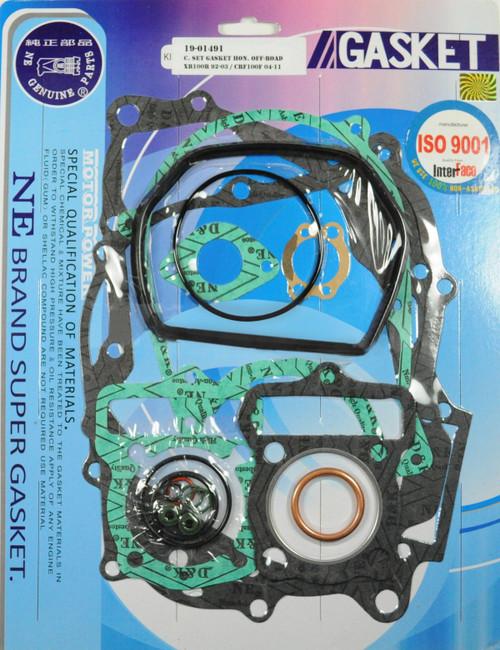 Full Complete Gasket Kit Top And Bottom End Gasket Kit XR100 CRF100 1992-2009