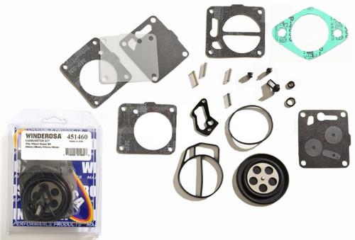 Carburetor Carb Rebuild Repair Kit With Base Gasket Sea Doo GTI GS GTS SP