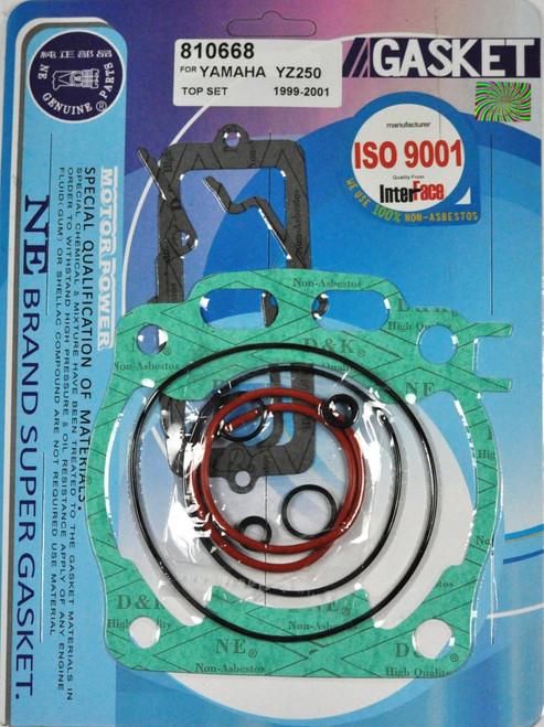 Top End Rebuild Head Base Gasket Kit Yamaha YZ250 YZ 250 1999-2001 99 00 01
