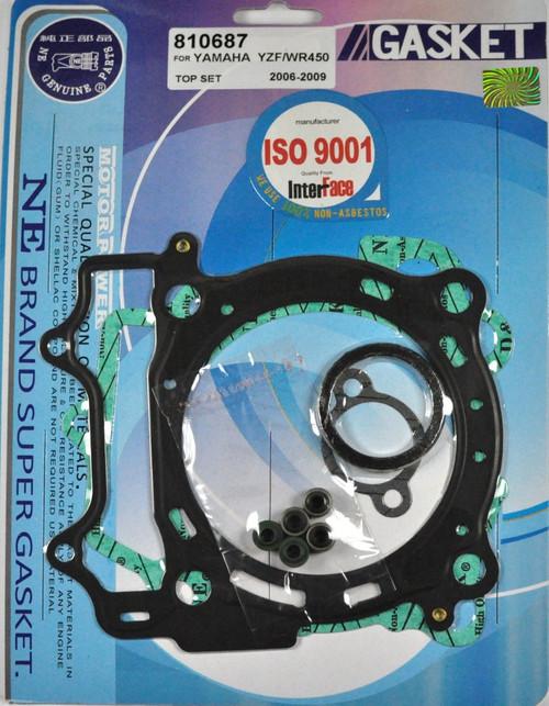 Top End Head Gasket Kit Yamaha WR450F 2007-2015 / YZ450F 2006-2009