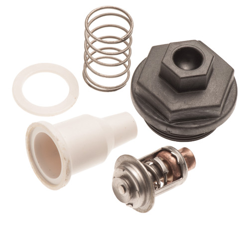 Thermostat & Cover Kit for Johnson Evinrude 90 115 150 175 HP 143° 435597