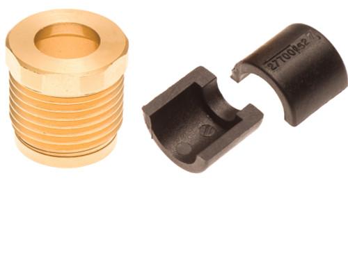 Sea Doo Billet Steering Cable Lock Nut & Half Rings GTX GTI GTS RXP RXT XP RX