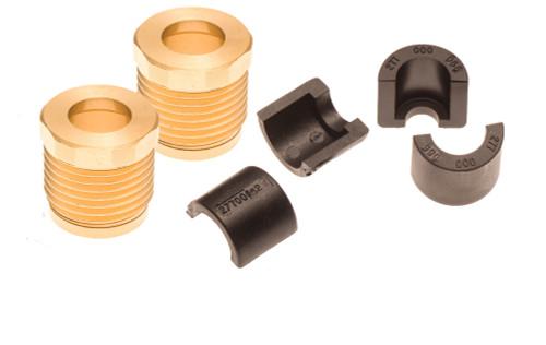 Sea Doo 4-Tec Steering & Reverse Cable Billet Lock Nut & Half Ring Set RXP RXT