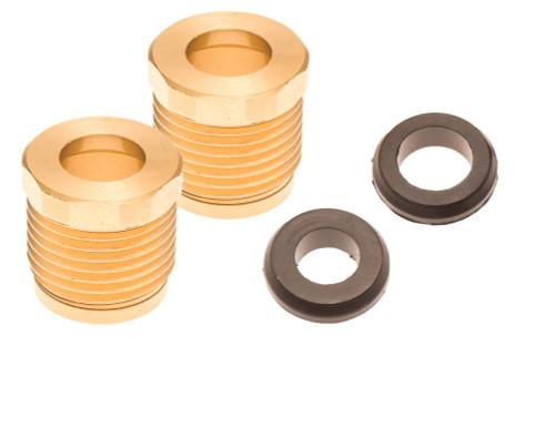 Sea Doo Reverse & Steering Cable Billet Lock Nut & Seal 02-10 4-Tec RXP RXT Wake