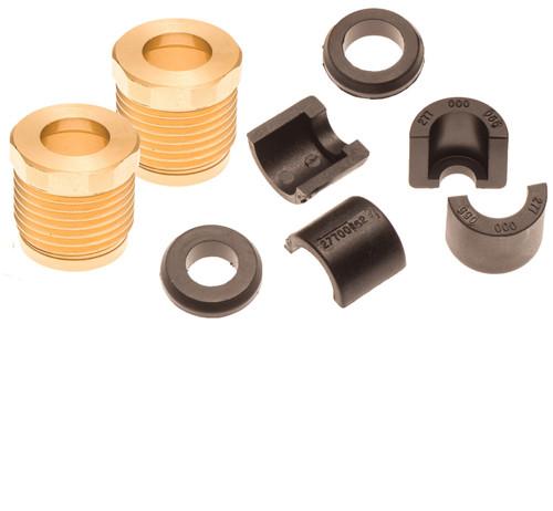 Sea Doo Steering Reverse Cable Lock Nut Seal & Half Ring Kit 4Tec 02-10 RXP RXT