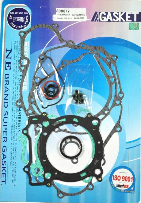 Complete Full Engine Gasket Kit Top & Bottom End Set Yamaha YZ450F WR450F