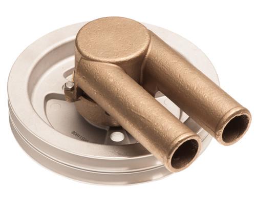 Sea Water Pump for Double V-Belt Volvo Penta 4.3 5.0 GL 21214596 3858229 3812697