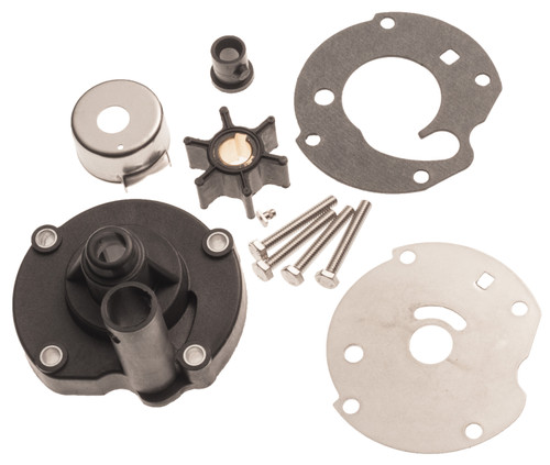 Water Pump Impeller Rebuild Kit for Johnson Evinrude 5.5 6 7.5 HP 763758 382797