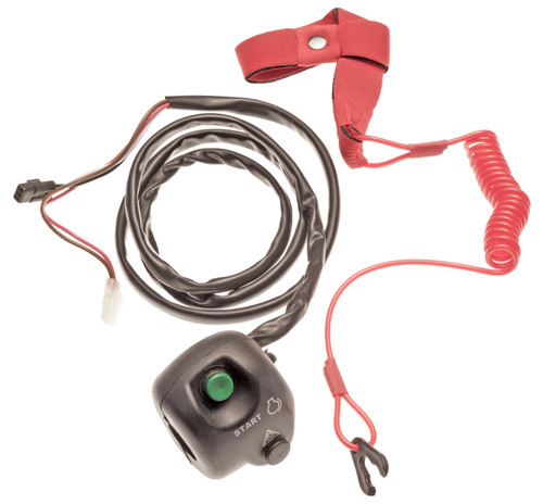 Start Stop Switch Box & Lanyard Key for Yamaha XL700 GP 800R 1300R VX FX VXR VXS