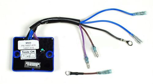 Mercury Oil Sensor Warning Module 14857 1 A1 A3 A4 A6 A7 A8 A9 A10 A11 A13