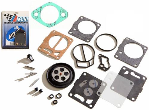 Genuine Mikuni Carb Carburetor Rebuild Kit & Base Gasket Sea Doo SP SPI GTS