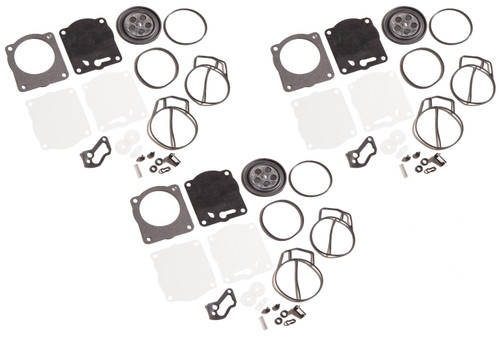 Yamaha XL XLT 1200 GP1200R GPr1200 Xl1200 XLT1200 Triple Carburetor Rebuild Kit