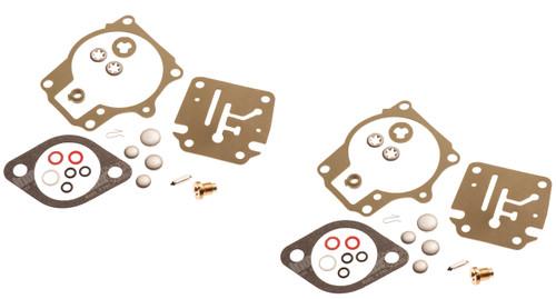 Johnson Evinrude Twin Carburetor Carb Rebuild Repair Kit 40 45 48 50 55 60 HP