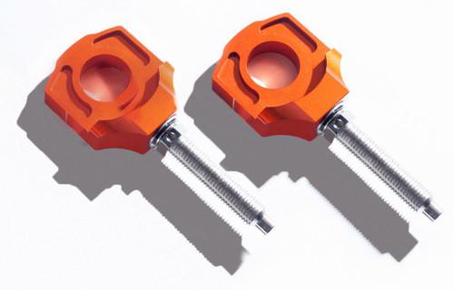 KTM Rear Chain Adjuster Blocks 125 150 200 250 300 350 400 450 500 530 640