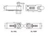 3 dial plastic combination lock