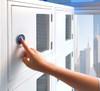 Reinforced fingerprint / biometric cabinet lock