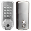 Push button with key -  residential dead bolt Lock
