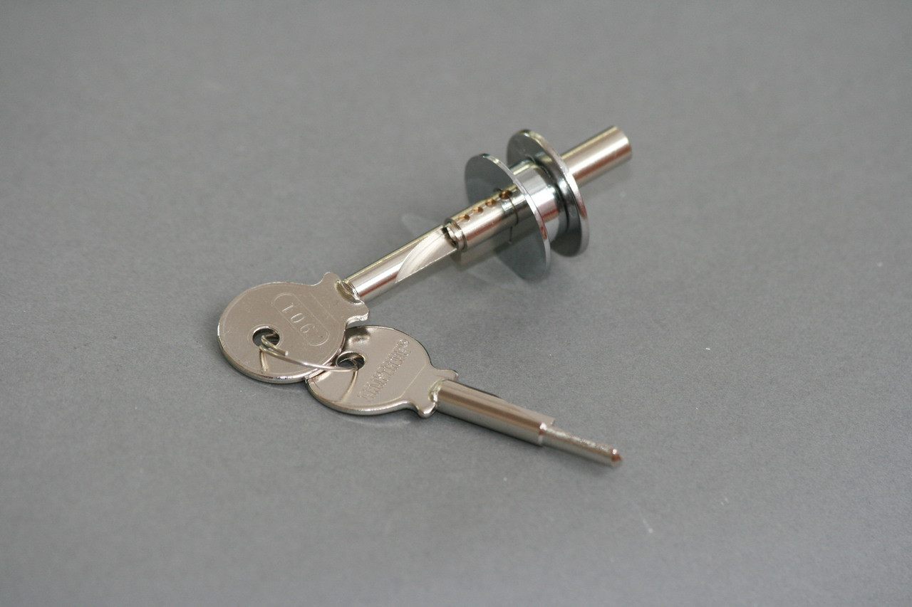 Cabinet sliding glass door lock 409