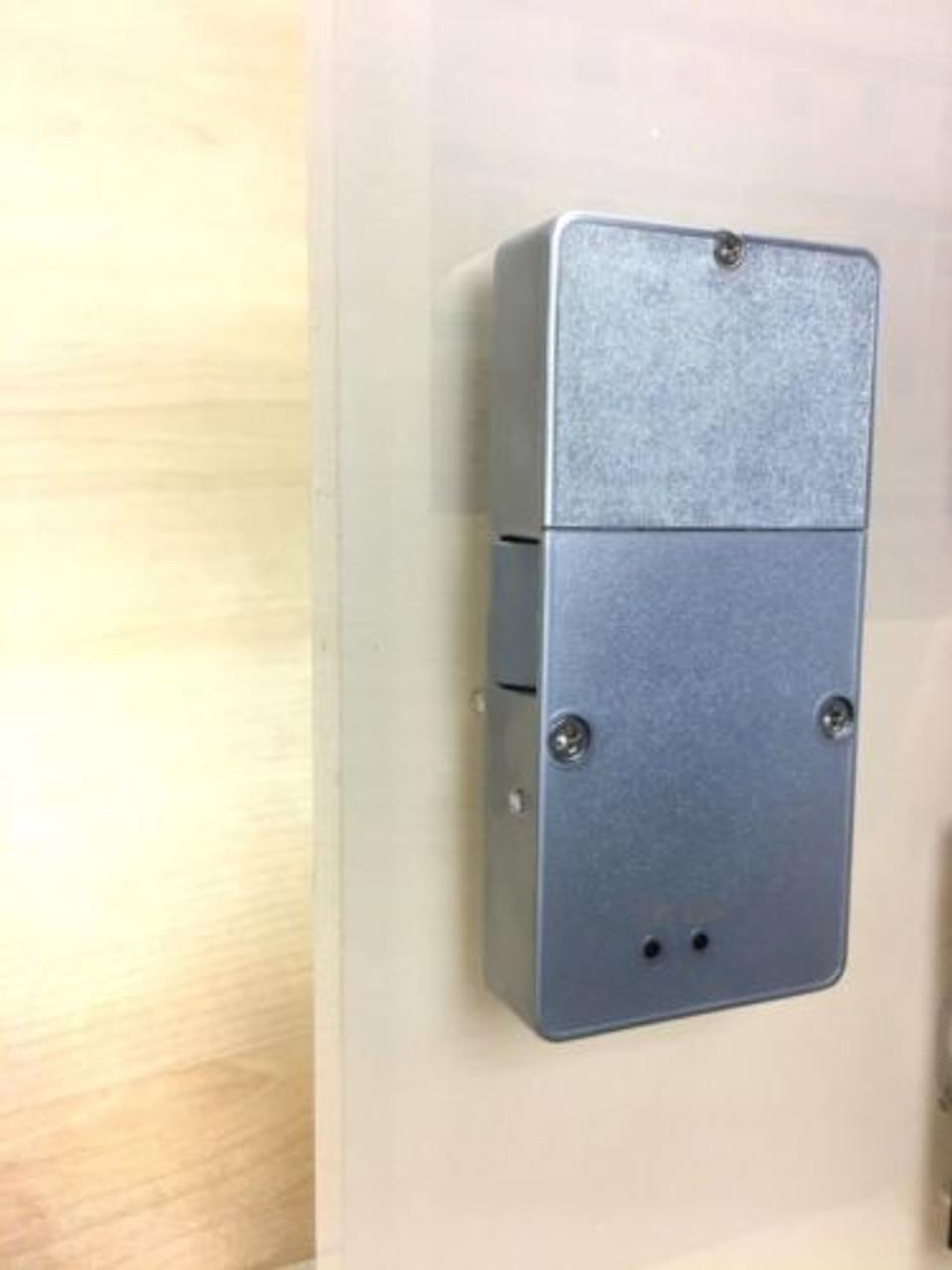 Reinforced RFID hidden concealed cabinet lock