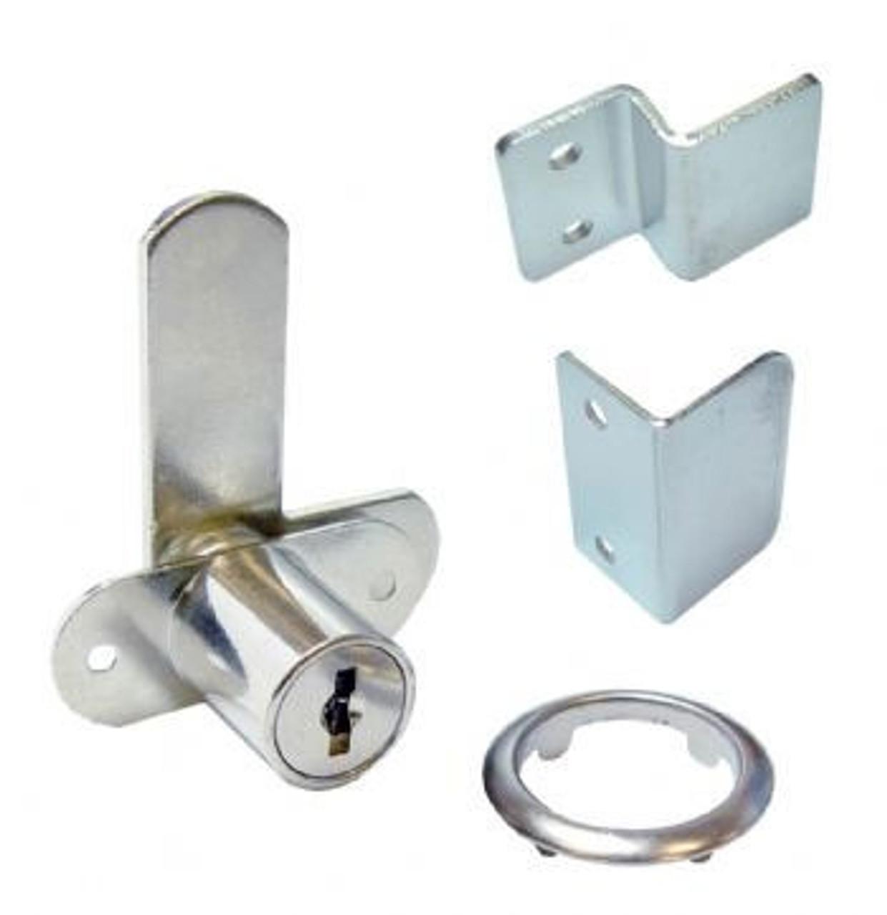 Double door cabinet lock