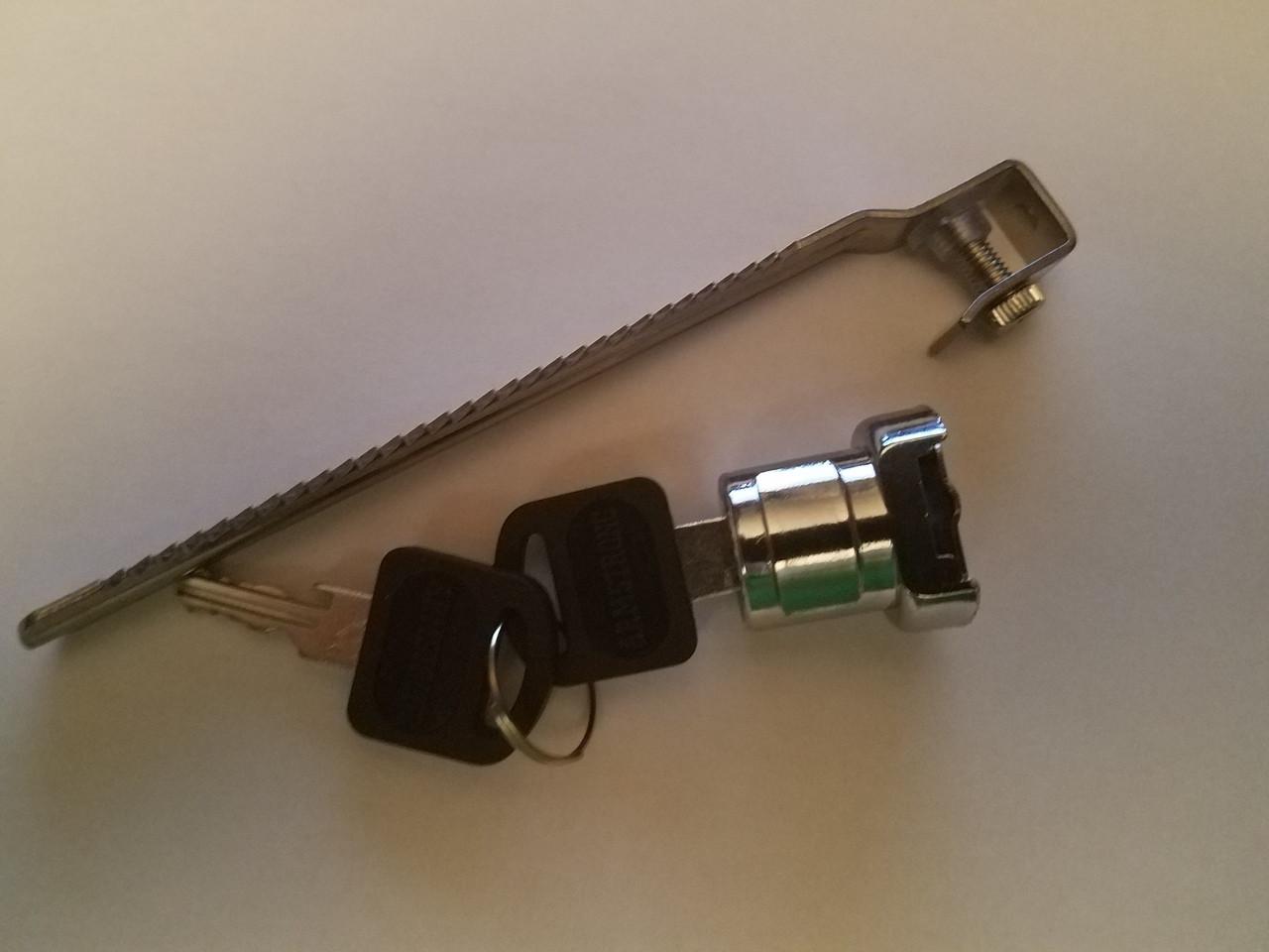 Chrome Cabinet Sliding Glass Door Ratchet Lock