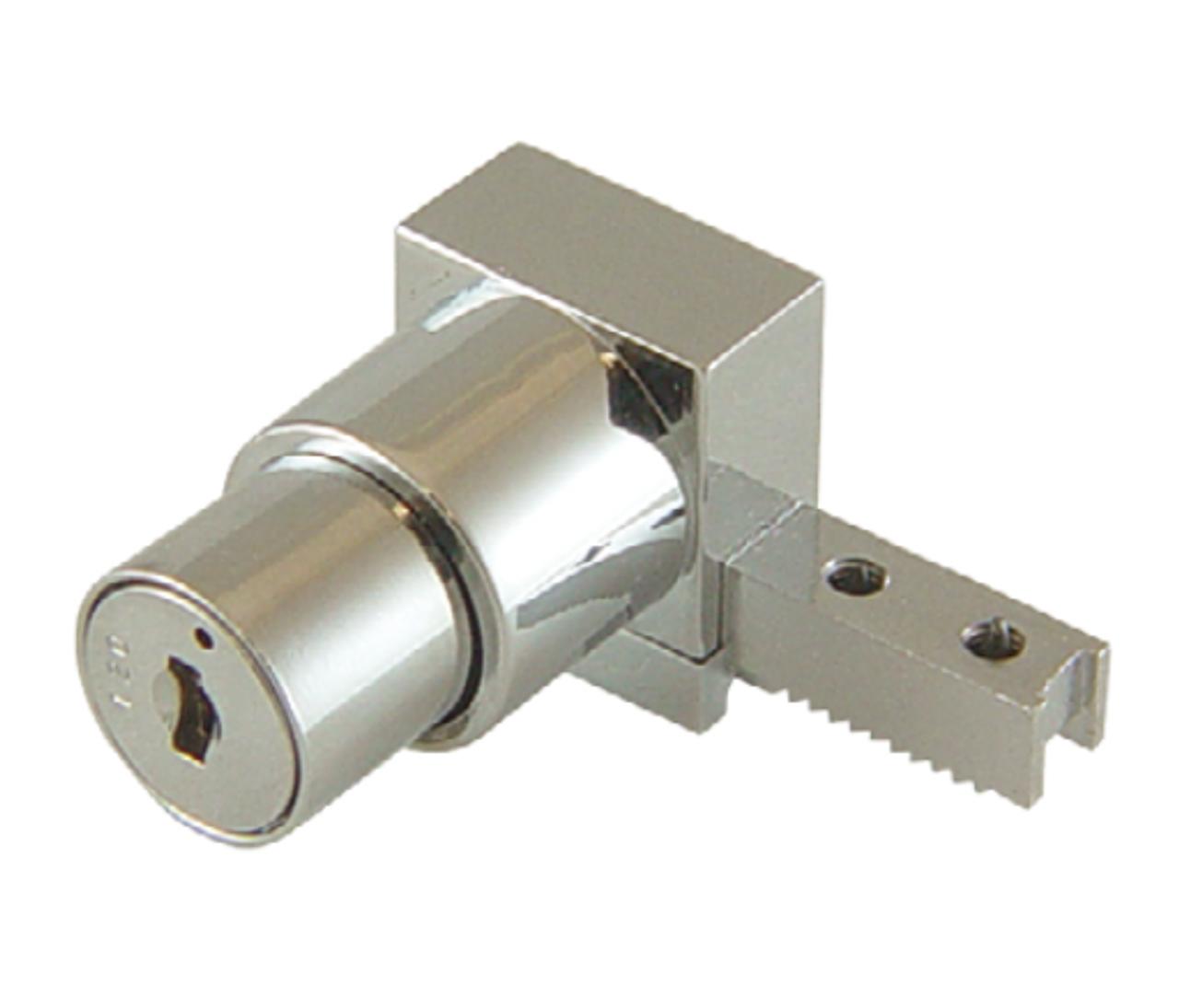 Push Lock Sliding Showcase glass lock