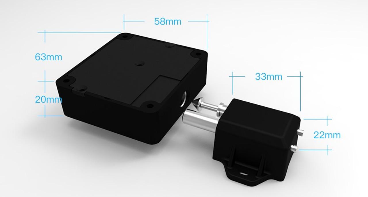 Bluetooth Electronic Hidden Cabinet Drawer Lock