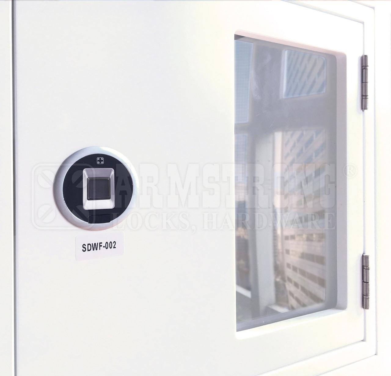2nd Generation fingerprint / biometric cabinet lock