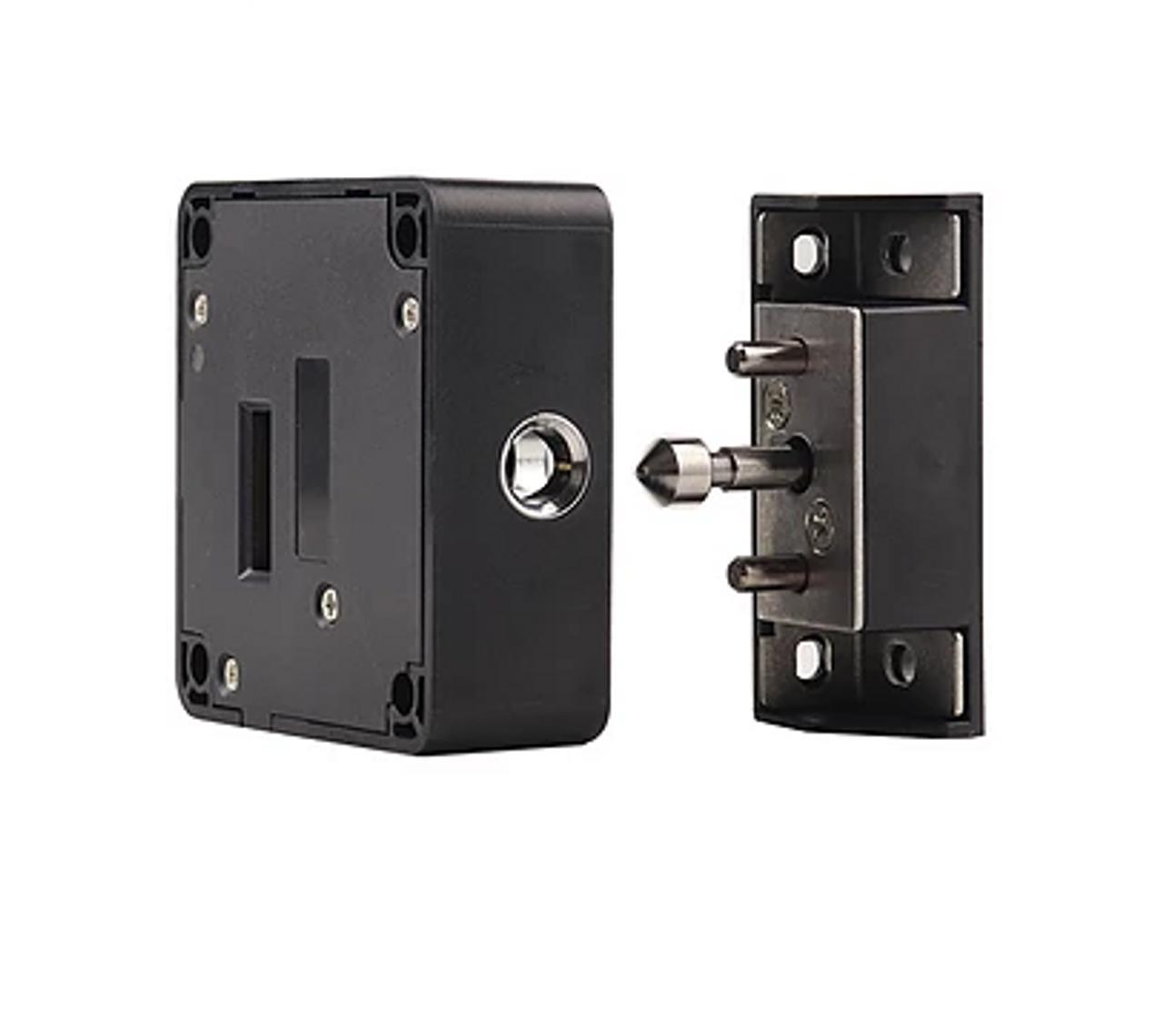 Small RFID Hidden Cabinet Drawer Lock, 3 Keys - Gun Safes, cabinets-13.56 Mhz
