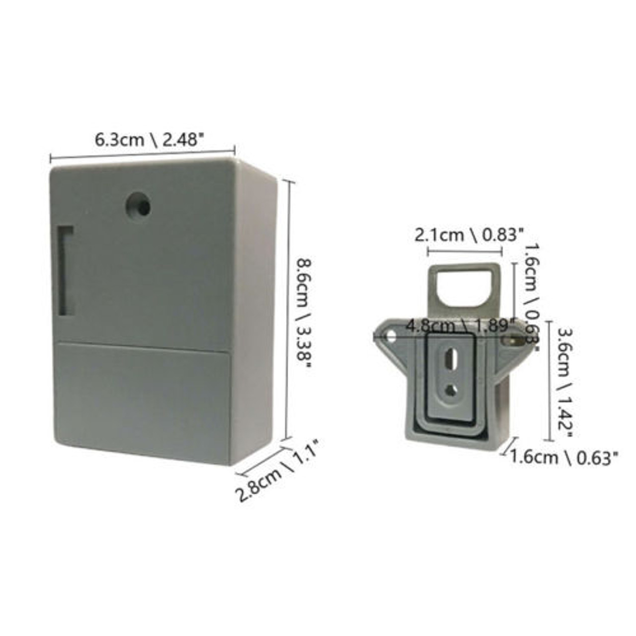 10 pcs of our Hidden RFID Cabinet Drawer Lock