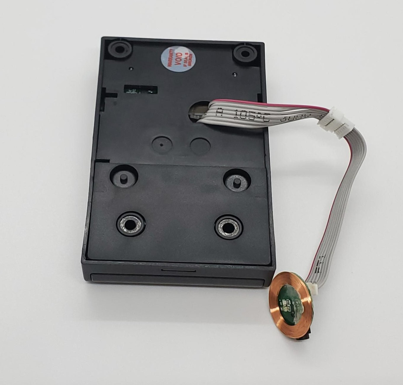 "Lock with 4"" cable and external sensor"