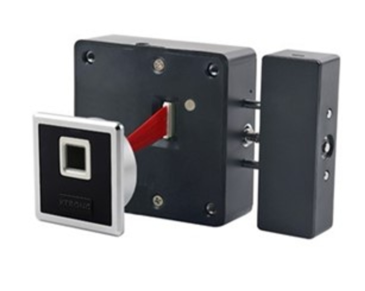 Fingerprint and Bluetooth Square Cabinet Drawer Lock