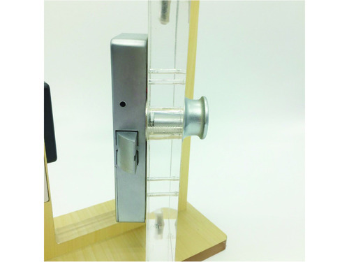 Reinforced RFID cabinet lock with knob, cabinet lock