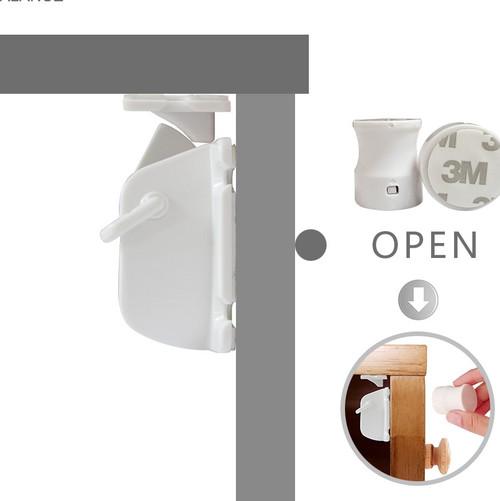 Safety Magnetic Lock set,  2 locks/1 key