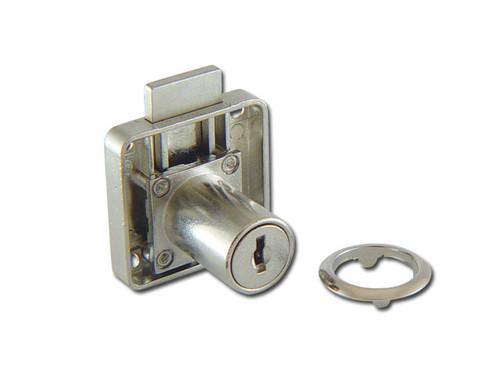 Nickel plated locks for Cupboards, Lockers, Drawers