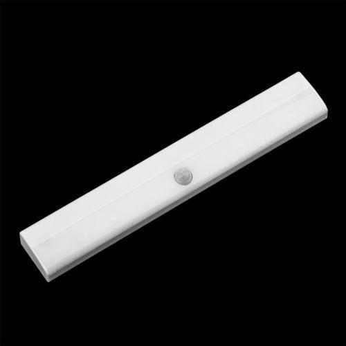 LED Motion Sensor Kitchen Under Cabinet Shelf Counter Light battery operated