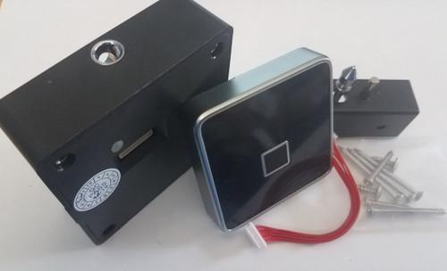 Fingerprint Cabinet Drawer Lock, surface mount only