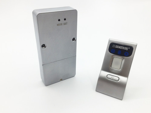 Reinforced fingerprint / biometric cabinet lock with pull