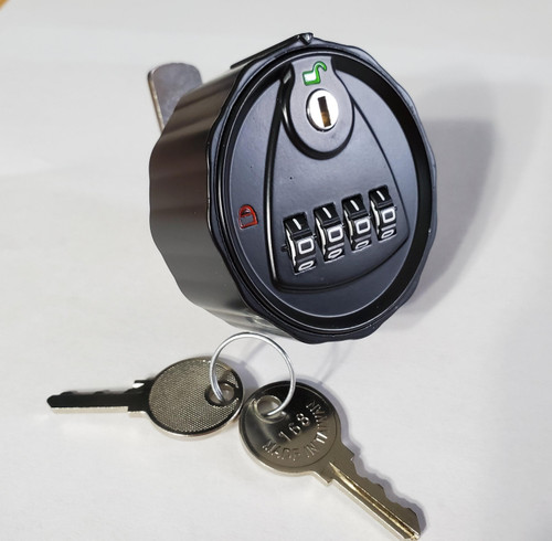 4 digit Combination Cam Lock for wood/metal Cabinets with key override