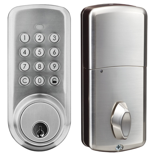 Bluetooth, Push button with key residential dead bolt Lock