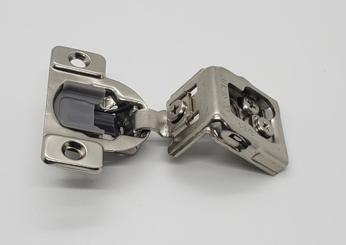 """Soft Close Face Frame 105° Compact Cabinet Hinge 1 3/8"""" overlay 1 pair"""