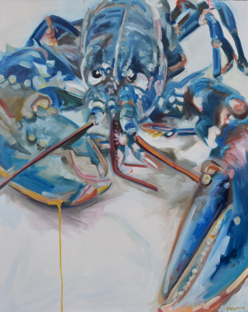 YDL by Michelle Parsons. 2021. Oil on canvas. Expressive Organic.