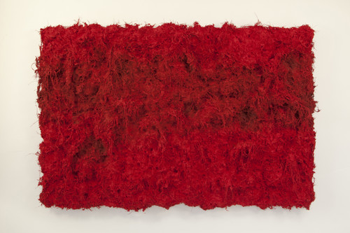 The History of Forest-2021Y-J1 by Myung Gyung You. 2021. Fibers, Color and Mix Media.
