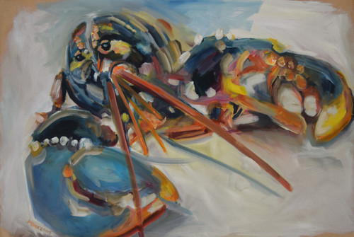 LSOW by Michelle Parsons. 2021. Oil on MDF. Expressive Organic.