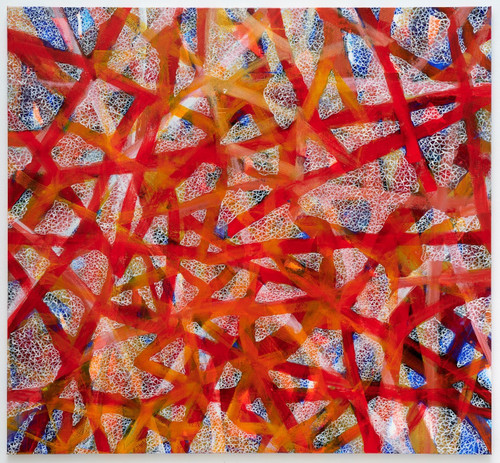 Universe_20200519 by STARYA HS Sung. 2021. Acrylic on canvas.