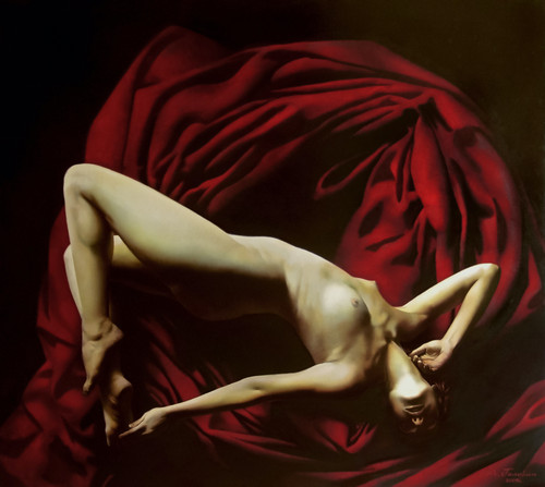 Eclectic Gallery_Alexey Golovin_Sibylla_2009_Oil on canvas_120 x 140cm