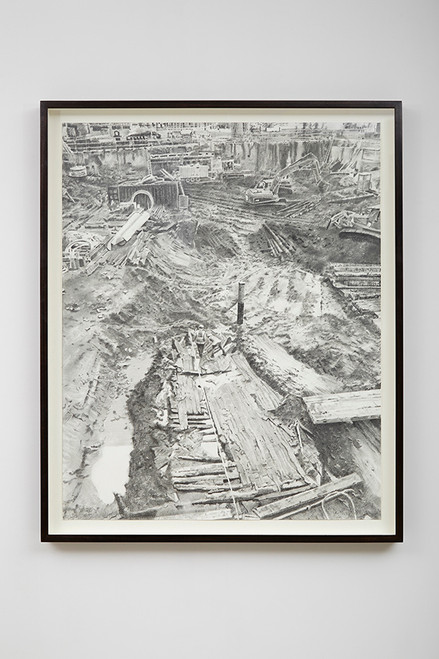 Drawing Practice Series #01-2 (The Ship from Ground Zero)_Shan Hur_2015_Graphite on paper