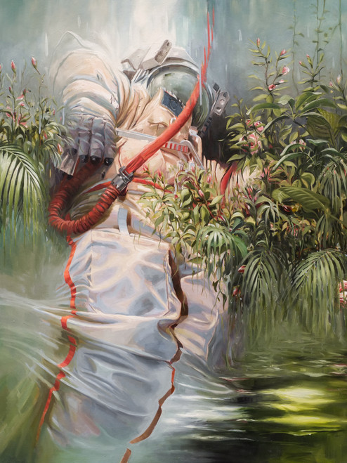 Eclectic Gallery_Johnny Morant_On the Shoulders of Giants_2020_Oil on canvas_130 x 100cm